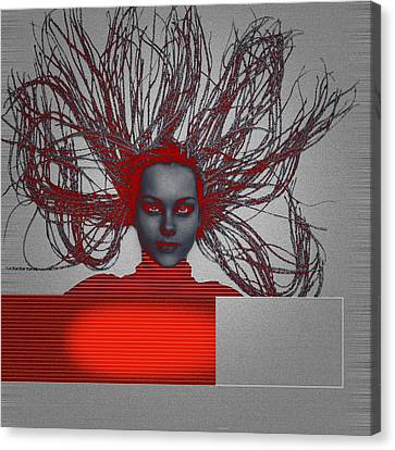 Enlightnment Canvas Print by Naxart Studio