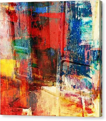 Enter Canvas Print by Fania Simon