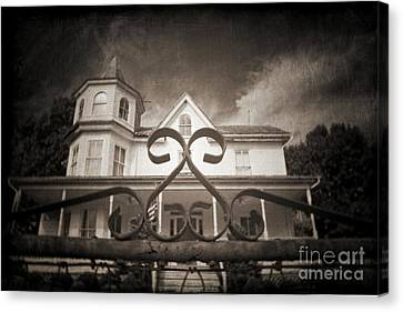 Enter If You Dare Canvas Print by Jane Brack