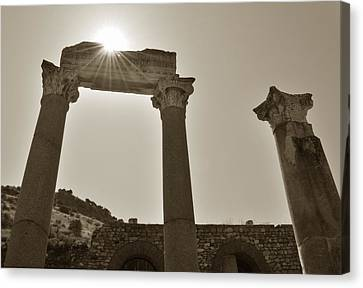 Ephesus 2011 Ad Canvas Print by Terence Davis