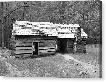 Ephraim Bales Cabin II Canvas Print by Gary L Suddath