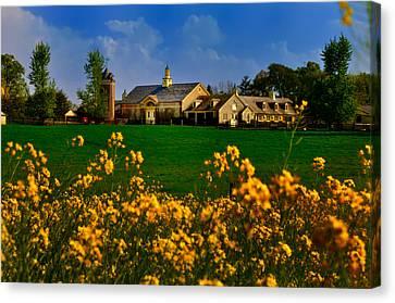 Erdenheim Farm In Flourtown Canvas Print by Bill Cannon