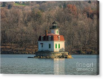 Esopus Meadows Lighthouse I Canvas Print by Clarence Holmes