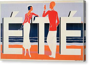 Ete Canvas Print by ME Caddy