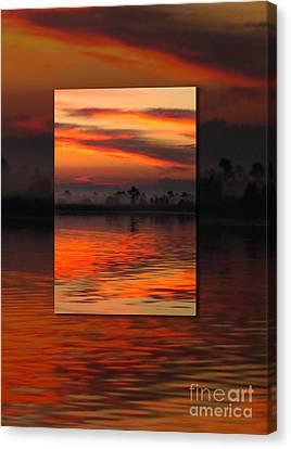 Ethereal Sunrise In Sunrise Canvas Print by Judee Stalmack