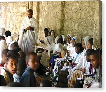 Ethiopian Orthodox Teachings Canvas Print by Cherie Richardson