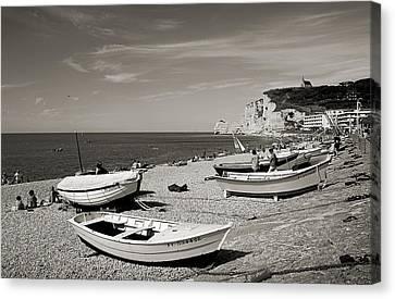 Etretat Beach Canvas Print by RicardMN Photography