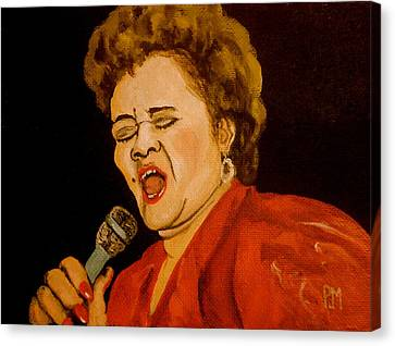 Etta II Canvas Print by Pete Maier