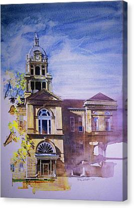 Eureka Courthouse Canvas Print by Rick Clubb