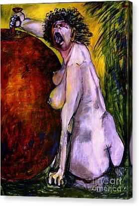 Eve Canvas Print by Eszter Gyory