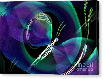 Eve Of The Dragonfly Canvas Print by Maria Urso