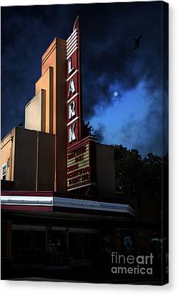 Evening At The Lark - Larkspur California - 5d18484 Canvas Print by Wingsdomain Art and Photography