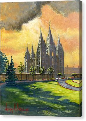 Evening Splendor Canvas Print by Jeff Brimley