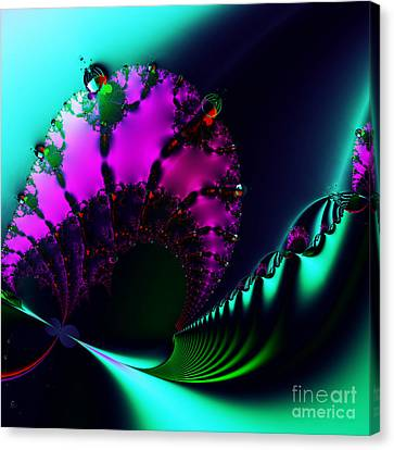 Event Horizon . S17 Canvas Print by Wingsdomain Art and Photography