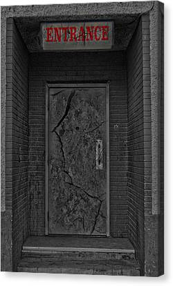Exit Canvas Print by JC Photography and Art