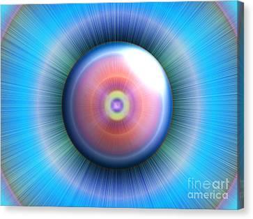 Eye Canvas Print by Nicholas Burningham