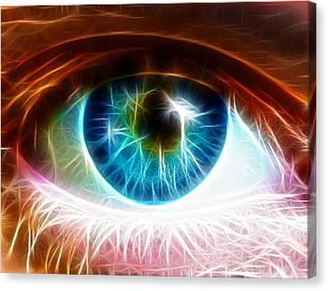 Eye Canvas Print by Paul Van Scott