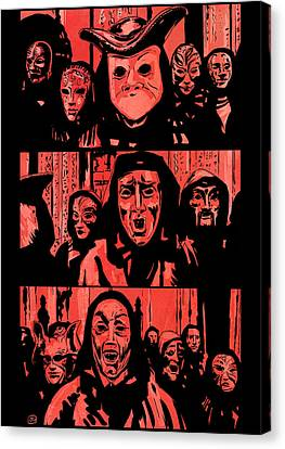 Eyes Wide Shut 1 Canvas Print by Giuseppe Cristiano