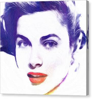 Face Of Beauty Canvas Print by Steve K