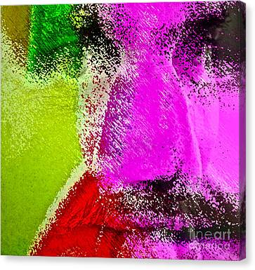 Face To Face Canvas Print by Gwyn Newcombe