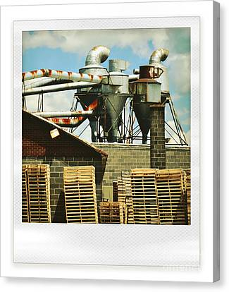 Factory Canvas Print by HD Connelly