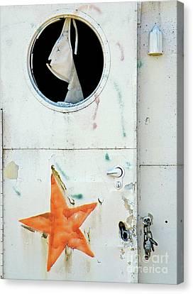 Faded Star Canvas Print by Joe Jake Pratt