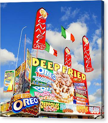 Fair Food Canvas Print by David Lee Thompson