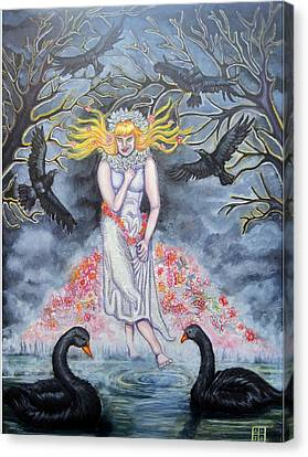 Fair Maiden Canvas Print by Amiee Johnson