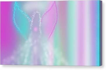 Fairy Grace Canvas Print by Rosana Ortiz