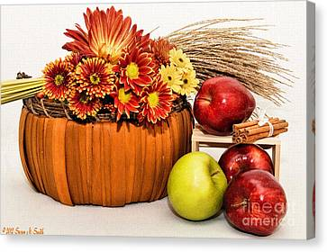Fall Pleasures Canvas Print by Susan Smith