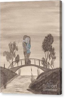 Falling... Canvas Print by Robert Meszaros