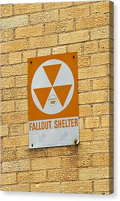 Fallout Shelter Canvas Print by Nikki Marie Smith