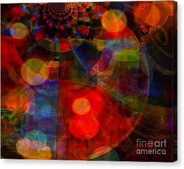 False Hope For Outsider Canvas Print by Fania Simon