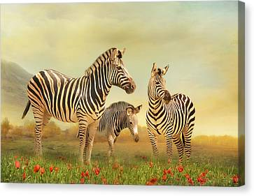 Family Ties Canvas Print by Trudi Simmonds