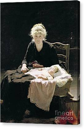 Fantine Canvas Print by Margaret Hall
