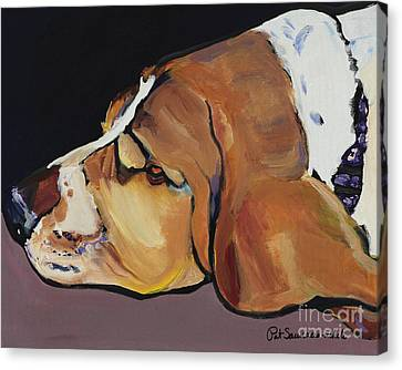 Farley Canvas Print by Pat Saunders-White