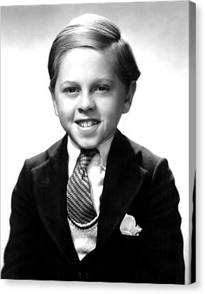 Fast Companions, Mickey Rooney, 1932 Canvas Print by Everett