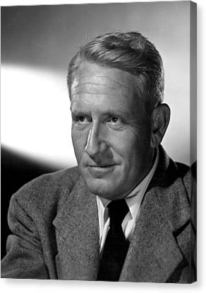 Fathers Little Dividend, Spencer Tracy Canvas Print by Everett