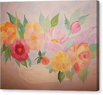 Favorite Flowers Canvas Print by Alanna Hug-McAnnally