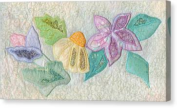 Favourite Lacy Blooms Canvas Print by Denise Hoag