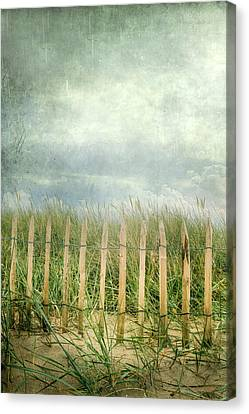 Fence Canvas Print by Joana Kruse