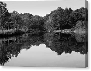 Fenns Pond Canvas Print by Karol Livote