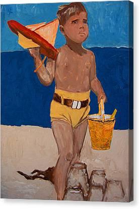 Fernando Canvas Print by Azul Fam