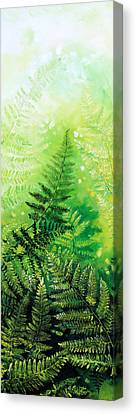 Ferns 4 Canvas Print by Hanne Lore Koehler