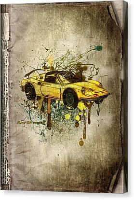 Ferrari Dino 246 Gts Canvas Print by Svetlana Sewell
