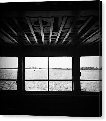 Ferry Window Canvas Print by Eli Maier