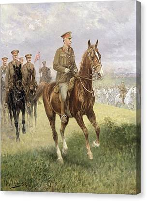 Field Marshal Haig Canvas Print by Jan van Chelminski