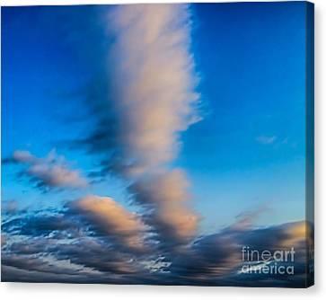 Fingers In Heaven Canvas Print by Jeremy Linot