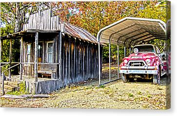 Fireman Cottage Canvas Print by Douglas Barnard