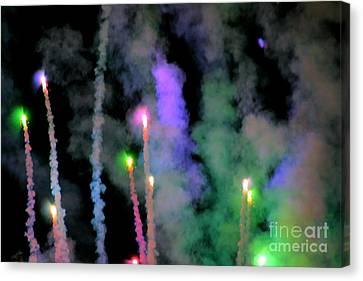 Fireworks Celebration Canvas Print by Tap  On Photo